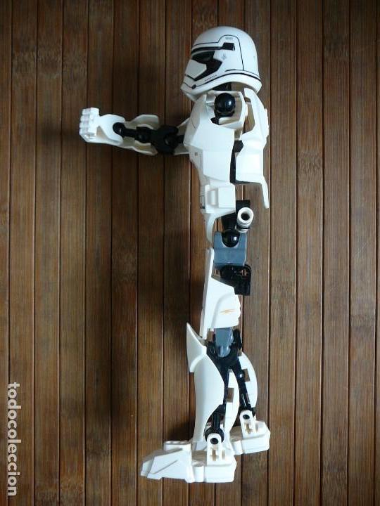 Figuras y Muñecos Star Wars: First order Stormtrooper Lego Star Wars 75114. Soldado Tropas de Asalto. Incompleto. - Foto 7 - 147761666