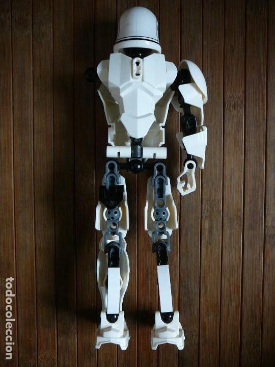 Figuras y Muñecos Star Wars: First order Stormtrooper Lego Star Wars 75114. Soldado Tropas de Asalto. Incompleto. - Foto 11 - 147761666