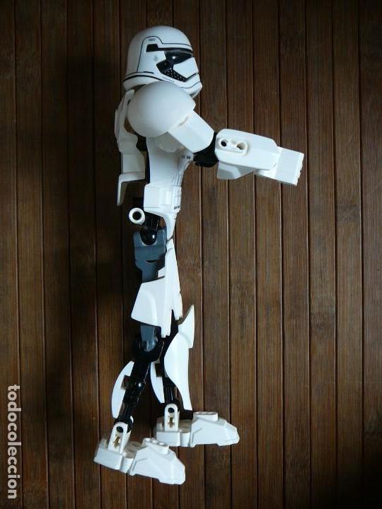 Figuras y Muñecos Star Wars: First order Stormtrooper Lego Star Wars 75114. Soldado Tropas de Asalto. Incompleto. - Foto 14 - 147761666