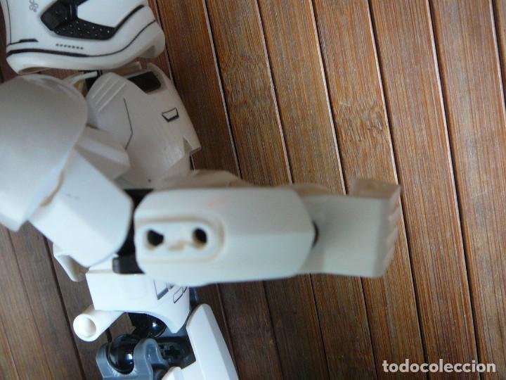 Figuras y Muñecos Star Wars: First order Stormtrooper Lego Star Wars 75114. Soldado Tropas de Asalto. Incompleto. - Foto 16 - 147761666