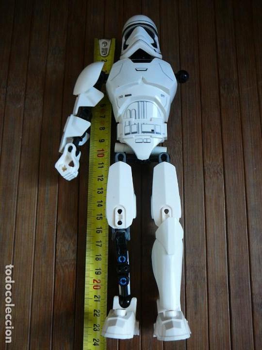 Figuras y Muñecos Star Wars: First order Stormtrooper Lego Star Wars 75114. Soldado Tropas de Asalto. Incompleto. - Foto 19 - 147761666
