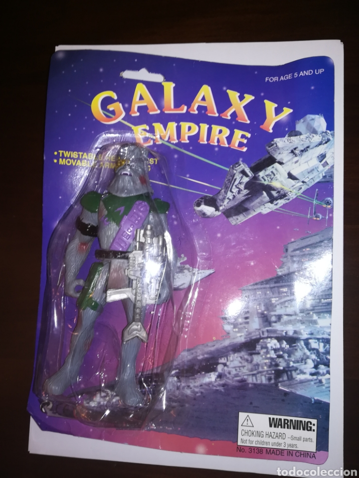 GALAXY EMPIRE BLISTER CON FIGURA DE ACCION BOOTLEG STAR WARS WOOKIEE (Spielzeug - Actionfiguren - Star Wars)