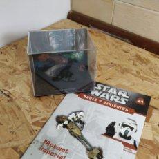 Figuras y Muñecos Star Wars: STAR WARS, NAVES Y VEHÍCULOS, MOTOJET IMPERIAL. Lote 147819989