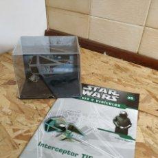 Figure e Bambolotti Star Wars: STAR WARS, NAVES Y VEHÍCULOS, INTERCEPTOR TIE. Lote 147826348