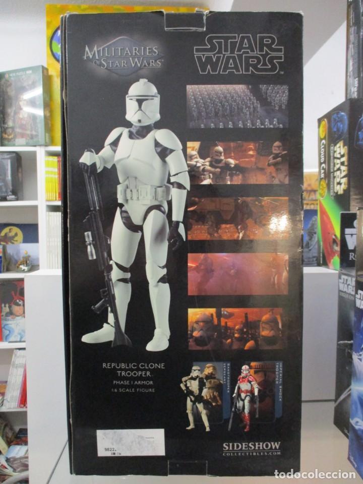 Figuras y Muñecos Star Wars: FIGURA REPUBLIC CLONE TROOPER - STAR WARS - MILITARIES - ESCALA 1:6 - 30 CM - NUEVO - Foto 2 - 147989770