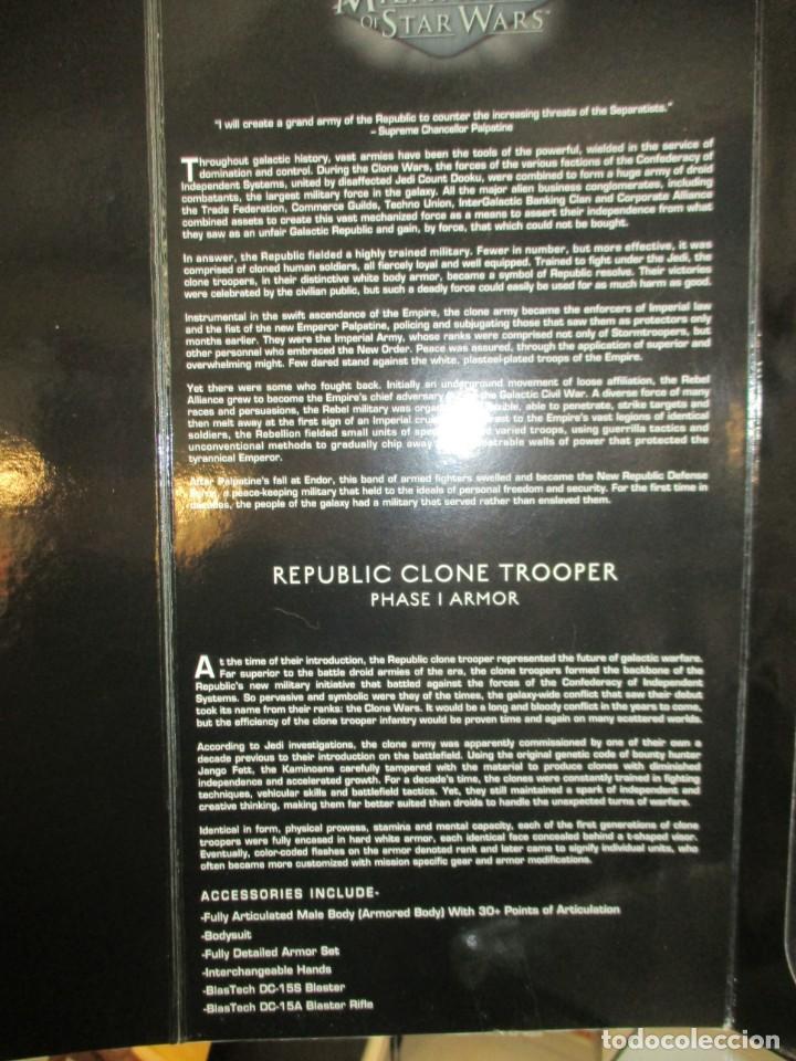 Figuras y Muñecos Star Wars: FIGURA REPUBLIC CLONE TROOPER - STAR WARS - MILITARIES - ESCALA 1:6 - 30 CM - NUEVO - Foto 4 - 147989770
