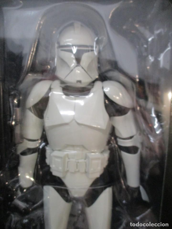 Figuras y Muñecos Star Wars: FIGURA REPUBLIC CLONE TROOPER - STAR WARS - MILITARIES - ESCALA 1:6 - 30 CM - NUEVO - Foto 6 - 147989770