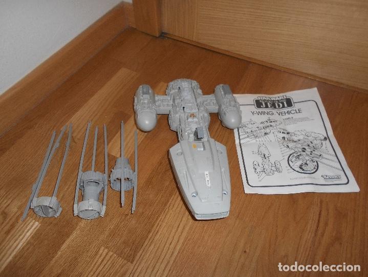 Figuras y Muñecos Star Wars: NAVE ESPACIAL STAR WARS Y-Wing Fighter, Lili-Ledy S.A. (México) Kenner AÑOS 80 RARA - Foto 2 - 148033530