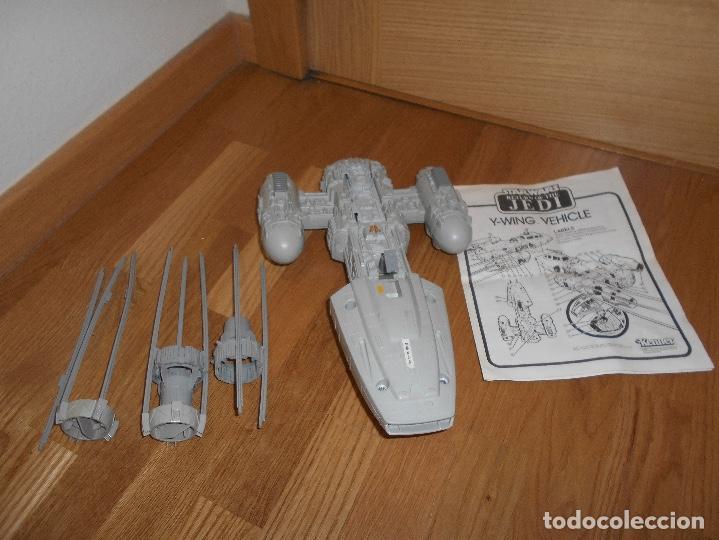 Figuras y Muñecos Star Wars: NAVE ESPACIAL STAR WARS Y-Wing Fighter, Lili-Ledy S.A. (México) Kenner AÑOS 80 RARA - Foto 3 - 148033530
