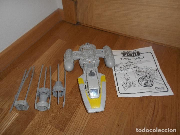 Figuras y Muñecos Star Wars: NAVE ESPACIAL STAR WARS Y-Wing Fighter, Lili-Ledy S.A. (México) Kenner AÑOS 80 RARA - Foto 4 - 148033530