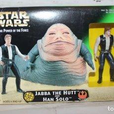 Figuras y Muñecos Star Wars: FIGURA JABBA THE HUTT - STAR WARS - POWER OF THE FORCE - KENNER. Lote 148095633