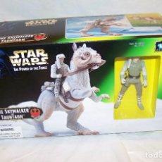 Figuras y Muñecos Star Wars: FIGURA TAUNTAUN LUKE SKYWALKER - STAR WARS- POWER OF THE FORCE - KENNER. Lote 148095817