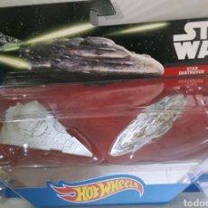 Figuras y Muñecos Star Wars: STAR WARS NAVES ESPACIALES STAR DESTROYER Y MON CALAMARI. Lote 148182285