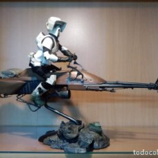 Figuras y Muñecos Star Wars: PACK SIDESHOW - SPEEDER BIKE + SCOUT TROOPER. ESCALA 1/6. Lote 148695978