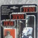 Figuras y Muñecos Star Wars: AT-ST DRIVER TRI-LOGO PBP EL RETORNO DEL JEDI EN BLISTER ESPAÑOL 1983. STAR WARS SPAIN PBP MOC.. Lote 149325370