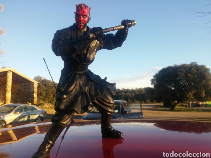 Figuras y Muñecos Star Wars: Figura Darth maul Star Wars lucas films coleccion articulable - Foto 2 - 149804149