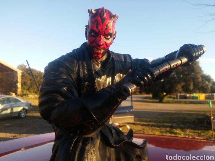 FIGURA DARTH MAUL STAR WARS LUCAS FILMS COLECCION ARTICULABLE (Juguetes - Figuras de Acción - Star Wars)