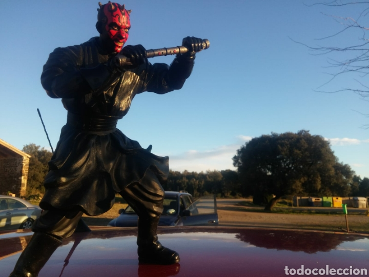 Figuras y Muñecos Star Wars: Figura Darth maul Star Wars lucas films coleccion articulable - Foto 4 - 149804149