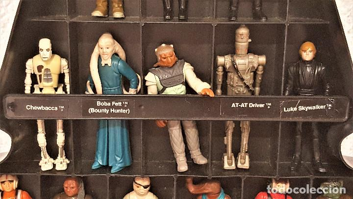 Figuren von Star Wars: STAR WARS ANTIGUO MALETIN MALETA DE DARTH VADER - CARRY CASE - KENNER 1980 - CON 31 FIGURAS - Foto 3 - 150035066
