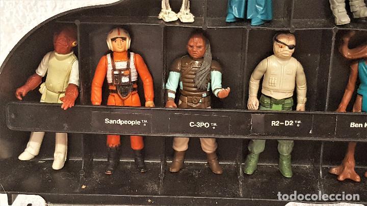 Figuren von Star Wars: STAR WARS ANTIGUO MALETIN MALETA DE DARTH VADER - CARRY CASE - KENNER 1980 - CON 31 FIGURAS - Foto 4 - 150035066