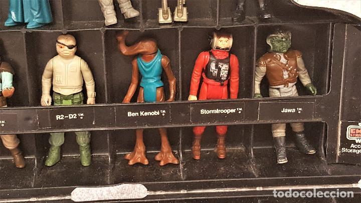 Figuren von Star Wars: STAR WARS ANTIGUO MALETIN MALETA DE DARTH VADER - CARRY CASE - KENNER 1980 - CON 31 FIGURAS - Foto 5 - 150035066