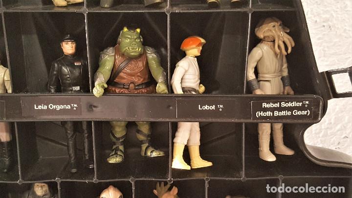 Figuren von Star Wars: STAR WARS ANTIGUO MALETIN MALETA DE DARTH VADER - CARRY CASE - KENNER 1980 - CON 31 FIGURAS - Foto 10 - 150035066