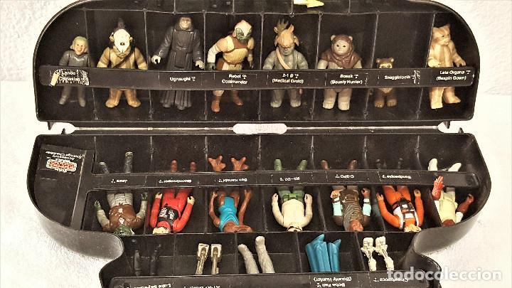 Figuren von Star Wars: STAR WARS ANTIGUO MALETIN MALETA DE DARTH VADER - CARRY CASE - KENNER 1980 - CON 31 FIGURAS - Foto 13 - 150035066