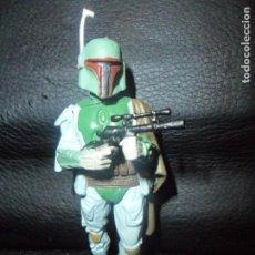 Figuras y Muñecos Star Wars: BOBA FETT - FIGURA DETALLADA PVC STAR WARS - LA GUERRA DE LAS GALAXIAS 2007 LUCASFILM- . Lote 150250898