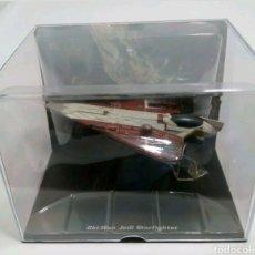 Figuras y Muñecos Star Wars: OBI WAN JEDI STARFIGHTER STAR WARS PLANETA AGOSTINI. Lote 150327508