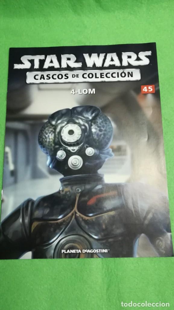 ALTAYA STAR WARS: CASCOS DE COLECCION Nº 45 - 4-LOM + FASCICULO (Juguetes - Figuras de Acción - Star Wars)