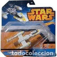 Figuras y Muñecos Star Wars: STAR WARS HOTWHEELS Y-WING FIGHTER GOLD LEADER. Lote 150941074
