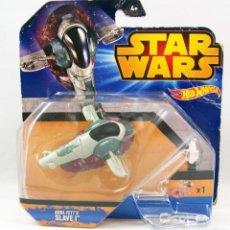 Figuras y Muñecos Star Wars: STAR WARS HOTWHEELS BOBA FETTS SLAVE I. Lote 150941574