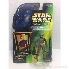 Figuras y Muñecos Star Wars: STAR WARS 4-LOM WITH BLASTER PISTOL AND BLASTER RIFLE. Lote 150946946