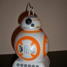 Figuras y Muñecos Star Wars: DROIDE SPHERO BB8 STAR WARS HASBRO BB 8 HUCHA CON SONIDO COLA CAO. Lote 34041324