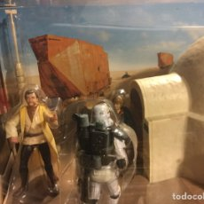 Figuras y Muñecos Star Wars: STAR WARS LEGACY COLLECTION DISTURBANCE AT LARS HOMESTEAD (2008) HASBRO. Lote 151557637