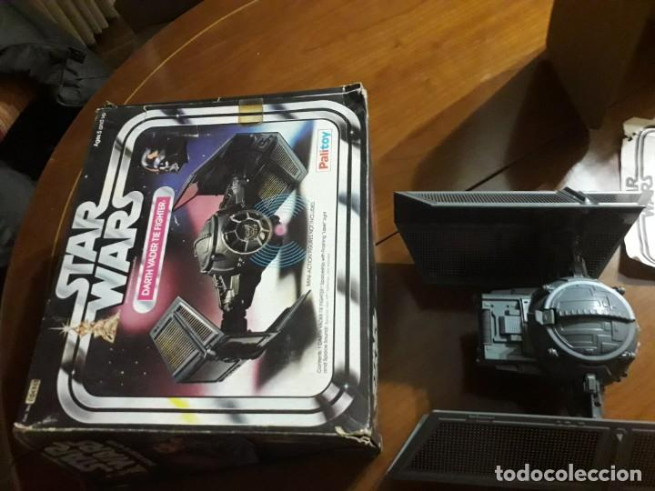 Figuras y Muñecos Star Wars: STAR WARS VINTAGE DARTH VADER VINTAGE 1977 TIE FIGHTER - Foto 2 - 151873190