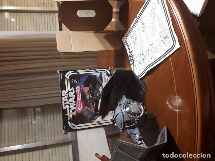 Figuras y Muñecos Star Wars: STAR WARS VINTAGE DARTH VADER VINTAGE 1977 TIE FIGHTER - Foto 7 - 151873190