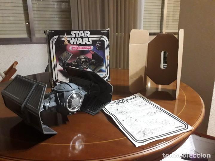 Figuras y Muñecos Star Wars: STAR WARS VINTAGE DARTH VADER VINTAGE 1977 TIE FIGHTER - Foto 8 - 151873190