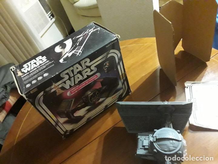 Figuras y Muñecos Star Wars: STAR WARS VINTAGE DARTH VADER VINTAGE 1977 TIE FIGHTER - Foto 12 - 151873190