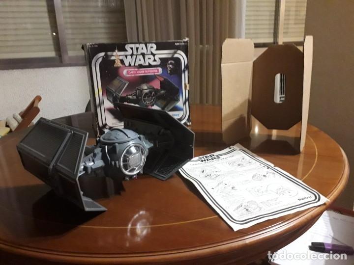 Figuras y Muñecos Star Wars: STAR WARS VINTAGE DARTH VADER VINTAGE 1977 TIE FIGHTER - Foto 13 - 151873190