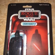 Figuras y Muñecos Star Wars: STAR WARS VINTAGE DARTH VADER ROGUE ONE CUSTOM BLISTER. Lote 152003590