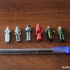 Figuras y Muñecos Star Wars: 6 MICRO FIGURAS STAR WARS BOBA FETT ROYAL GUARD STORMTROOPER . Lote 152163322