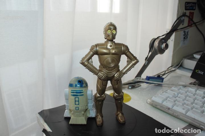 R2D2 Y C-3PO BURGUER KING (Juguetes - Figuras de Acción - Star Wars)