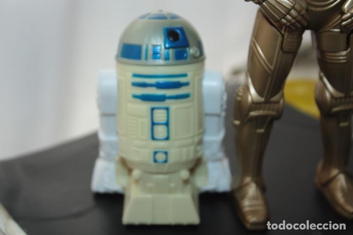 Figuras y Muñecos Star Wars: R2D2 Y C-3PO BURGUER KING - Foto 3 - 152174246