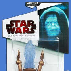 BLISTER DARTH SIDIOUS HOLOGRAM STAR WARS LEGACY COLLECTION