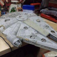 Figuras y Muñecos Star Wars: MAQUETA DEL HALCÓN MILENARIO.ORIGINAL MPC 1979.46 CM.DE LARGO.MILLENNIUM FALCON,EL RETORNO DEL JEDI.. Lote 153040230