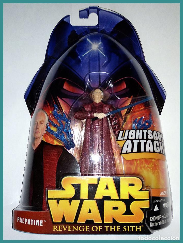 STAR WARS # PALPATINE # REVENGE OF THE SITH - NUEVO EN SU BLISTER ORIGINAL DE HASBRO.. (Juguetes - Figuras de Acción - Star Wars)