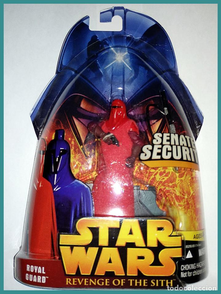 STAR WARS # ROYAL GUARD # REVENGE OF THE SITH - NUEVO EN SU BLISTER ORIGINAL DE HASBRO.. (Juguetes - Figuras de Acción - Star Wars)