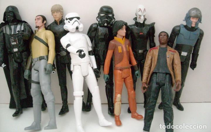 STAR WARS - 9 FIGURAS (Juguetes - Figuras de Acción - Star Wars)