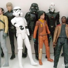 Figuras y Muñecos Star Wars: STAR WARS - 9 FIGURAS. Lote 153587106